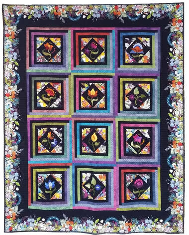 Image Title: 2020 Quilt Show Theme Example